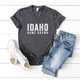 Idaho Home Grown | V-Neck Graphic Tee