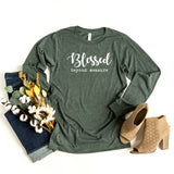 Blessed Beyond Measure | Long Sleeve Graphic Tee