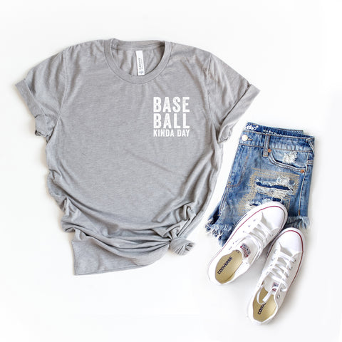 Baseball Kinda Day - Mini | Short Sleeve Graphic Tee