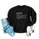 Nurse Definition | Sweatshirt