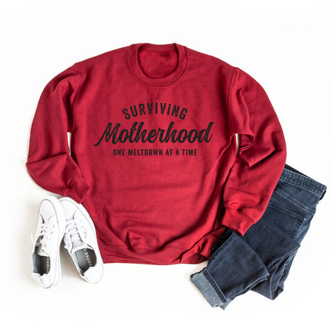 Surviving Motherhood One Meltdown At A Time | Sweatshirt