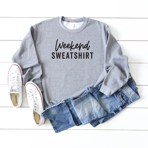 Weekend Sweatshirt | Clearance