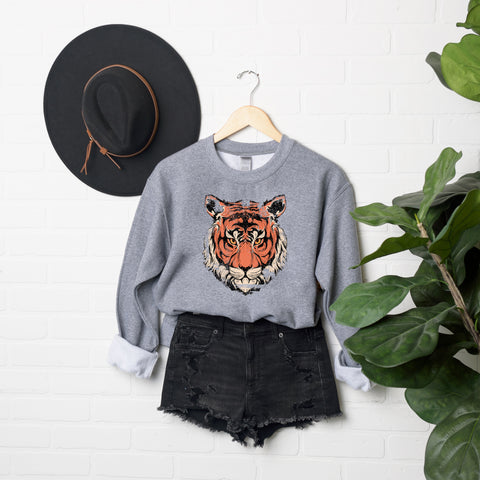 Tiger Face | Sweatshirt