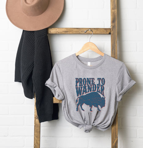 Prone to Wander | Short Sleeve Graphic Tee