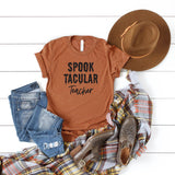 Spooktacular Teacher | Short Sleeve Graphic Tee