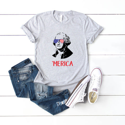 George Washington - Kids | Short Sleeve Graphic Tee