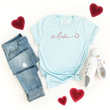 Love Hearts | Short Sleeve Graphic Tee