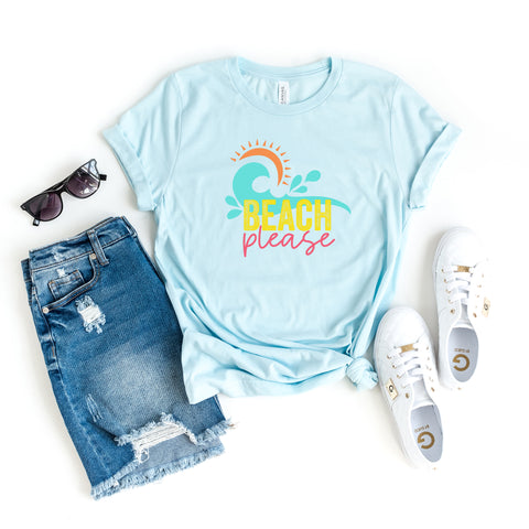 Beach Please | Short Sleeve Graphic Tee