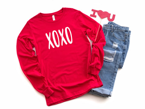XOXO Long Sleeve Graphic Tee