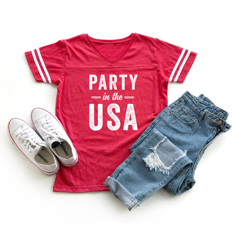 Party in the USA | Varsity Tee