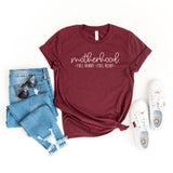 Motherhood Full Hands Full Heart | Short Sleeve Graphic Tee