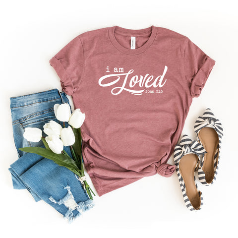 I Am Loved | Short Sleeve Graphic Tee