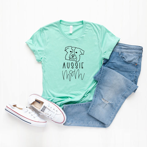 Aussie Mom | Short Sleeve Graphic Tee