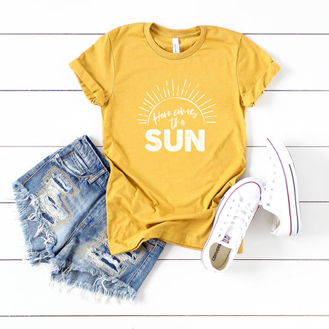 Here Comes The Sun | Short Sleeve Tee