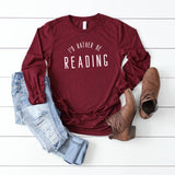 I'd Rather Be Reading | Long Sleeve Graphic Tee