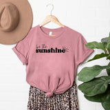 Be the Sunshine | Short Sleeve Graphic Tee