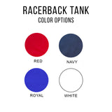 Let Freedom Ring | Raceberback Tank