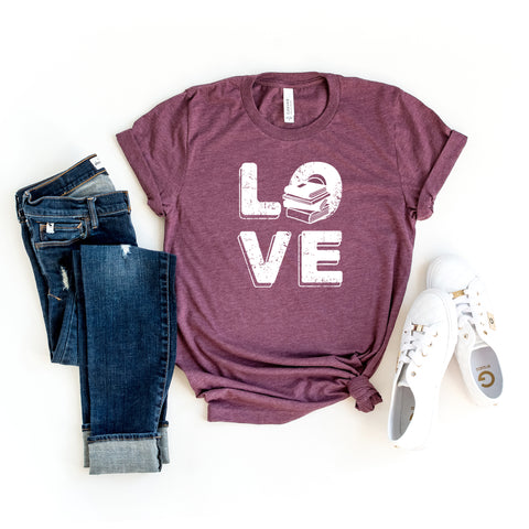 Book Love | Short Sleeve Graphic Tee