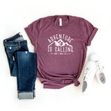 Adventure is Calling | Short Sleeve Graphic Tee