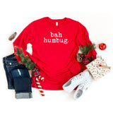 Bah Humbug - Typewriter | Long Sleeve Crew Neck
