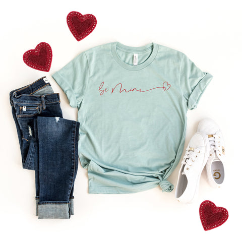 Be Mine Heart | Short Sleeve Graphic Tee