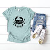 If Crabby. Please Return to Beach. | Short Sleeve Tee