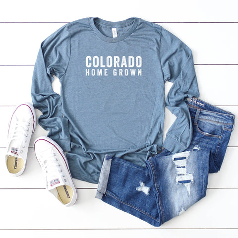 Colorado Home Grown  | Long Sleeve Graphic Tee