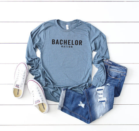 Bachelor Nation | Long Sleeve Graphic Tee