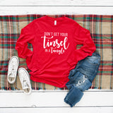 Don't get your Tinsel in a Tangle | Long Sleeve Crew Neck