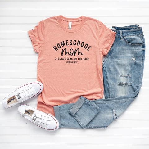 Homeschool Mom | Short Sleeve Graphic Tee