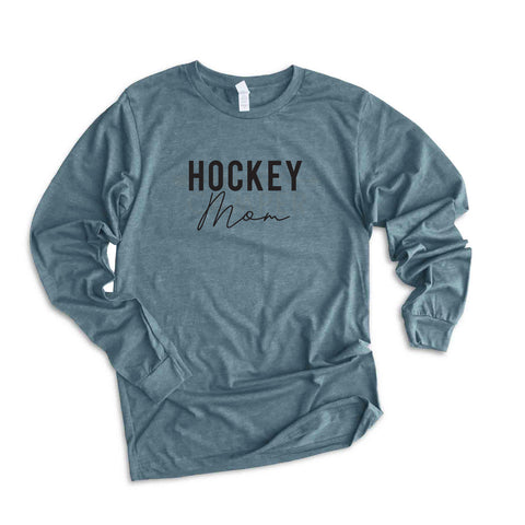 Hockey Mom | Long Sleeve Graphic Tee