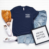 Baseball is my Favorite Season - Mini | Short Sleeve Graphic Tee