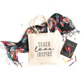 Teach Love Inspire | Teacher Appreciation Tote