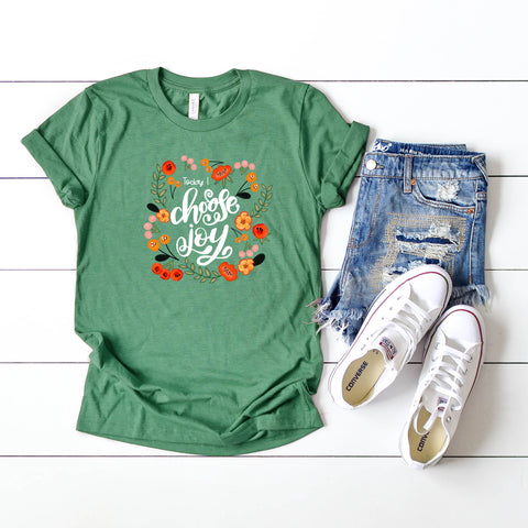 Today I Choose Joy | Short Sleeve Graphic Tee