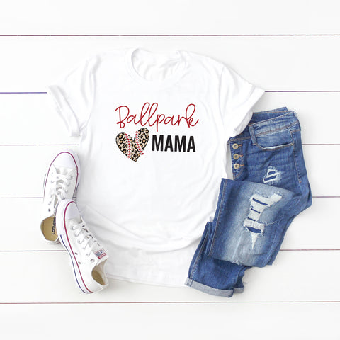 Ballpark Mama | Short Sleeve Graphic Tee