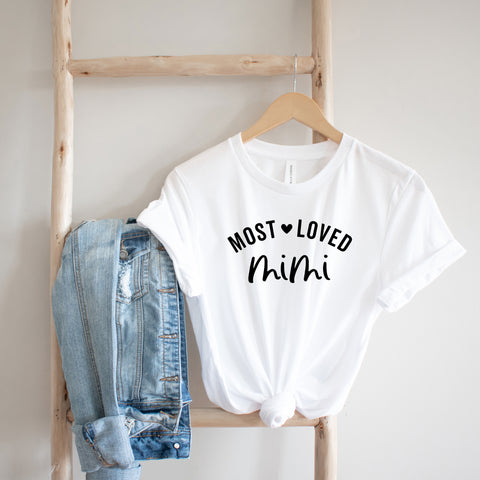 Most Loved Mimi | Short Sleeve Graphic Tee