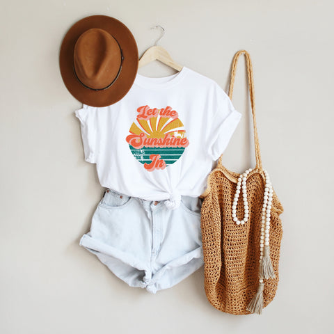 Let The Sunshine In | Short Sleeve Graphic Tee