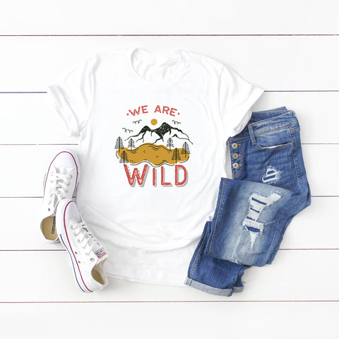 We Are Wild | Short Sleeve Graphic Tee