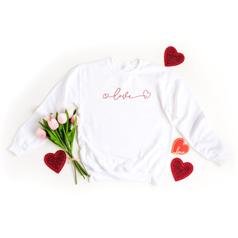 Love Hearts | Sweatshirt