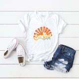 Sunshine Chaser | V-Neck Graphic Tee