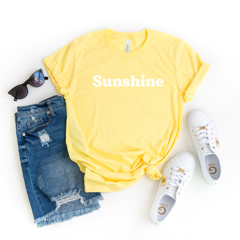 Sunshine | Short Sleeve Graphic Tee