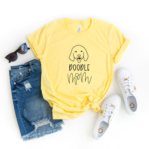 Doodle Mom | Short Sleeve Graphic Tee