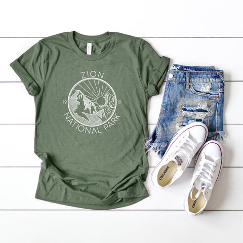 Zion National Park | Short Sleeve Graphic Tee