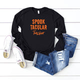 Spooktacular Teacher | Long Sleeve Graphic Tee