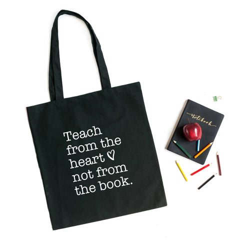 Teach from the Heart | Teacher Appreciation Tote