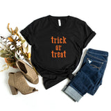 Trick or Treat | V-Neck Graphic Tee