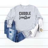 Cuddle Weather | Long Sleeve Graphic Tee