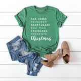 Christmas Words | Short Sleeve Graphic Tee