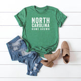 North Carolina Home Grown | Short Sleeve Graphic Tee