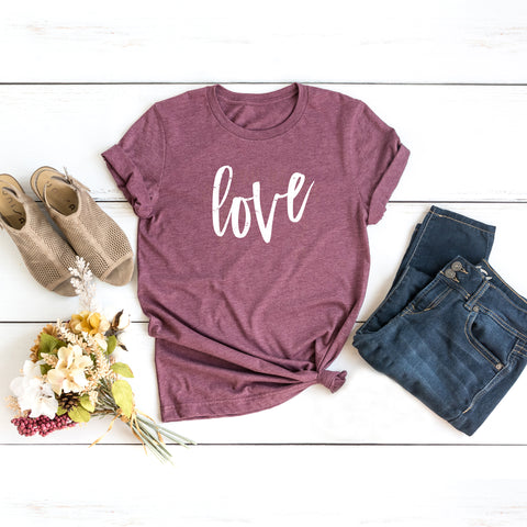 Love Short Sleeve Graphic Tee